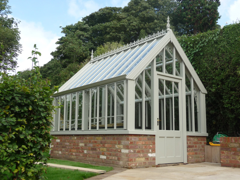 victorian greenhouse designed for country garden