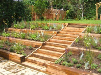 Terraced Garden Radlett