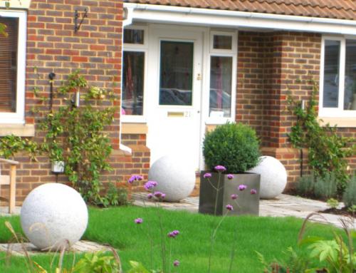 Contemporary Front Garden, Redbourn