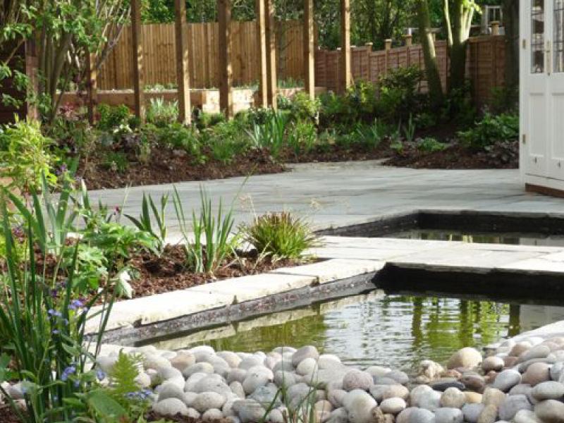 Contemporary Garden St. Albans Julian Tatlock