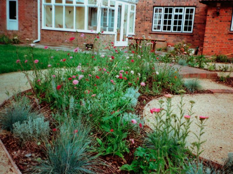 Entertaining Garden, Harpenden - Julian Tatlock Garden ...